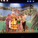 Jim McKeown, Josh Cuddy, Lynda Wright & Dion Di Maio in Jack and The Beanstalk Bardic Theatre 2019