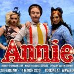 Holly McCann, Conor Begley & Jamie-Lee Meneely in Annie (2020)