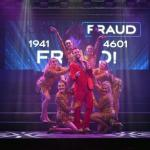 Fintan Daly as Herod in Jesus Christ Superstar (2018) Bardic Theatre