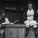Declan Billington & Claie Quinn in The Cripple of Inishmaan (Theatre U Mosta, Perm, Russia, 2016). Photo by Vadim Balakin.