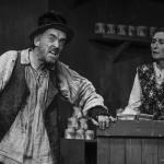 Jim McKeown & Mairead Eastwood in The Cripple of Inishmaan (Theatre U Mosta, Perm, Russia, 2016). Photo by Vadim Balakin.