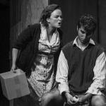 Claire Quinn & Declan Billington in The Cripple of Inishmaan (Theatre U Mosta, Perm, Russia, 2016). Photo by Vadim Balakin.