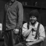 Blaine Nugent & Conor Begley in The Cripple of Inishmaan (Theatre U Mosta, Perm, Russia, 2016). Photo by Vadim Balakin.