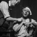 Noel Comac & Conor Begley in The Cripple of Inishmaan (Theatre U Mosta, Perm, Russia, 2016). Photo by Vadim Balakin.