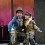 Conor Begley as Artful Dodger and Oliver